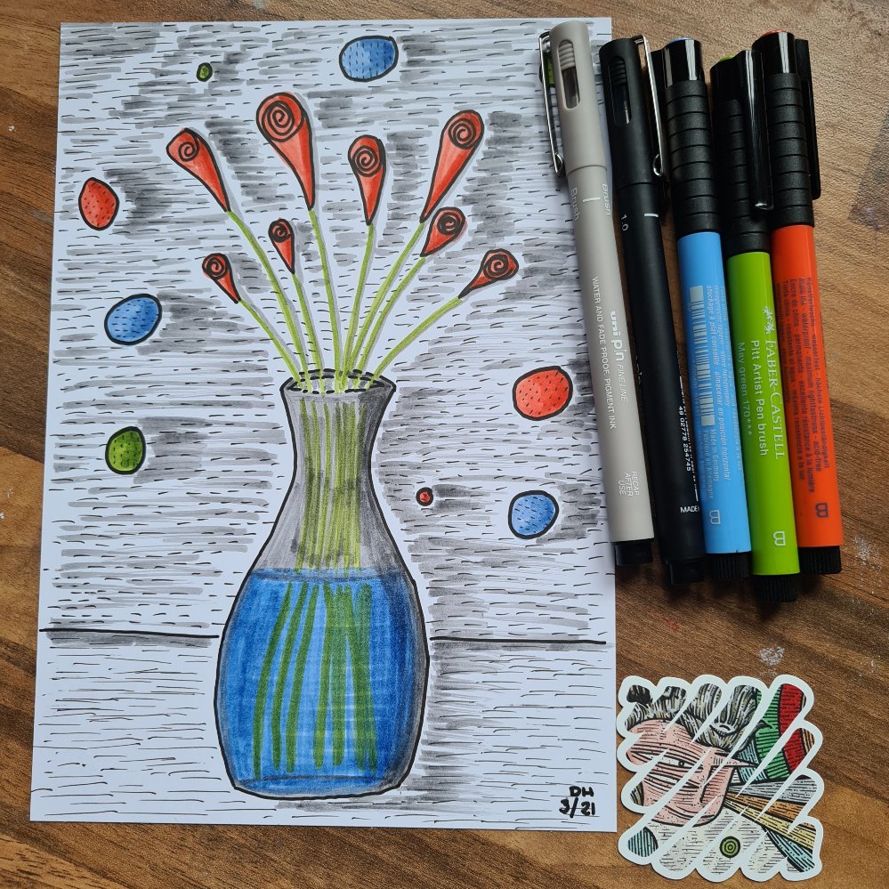 Scrawlrbox67 Vase
