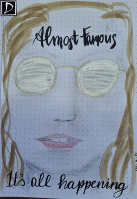 Almost Famous Day 6 Lettering Challenge