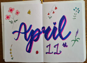 April 11th Scribble & DOt and Alcohol Markers