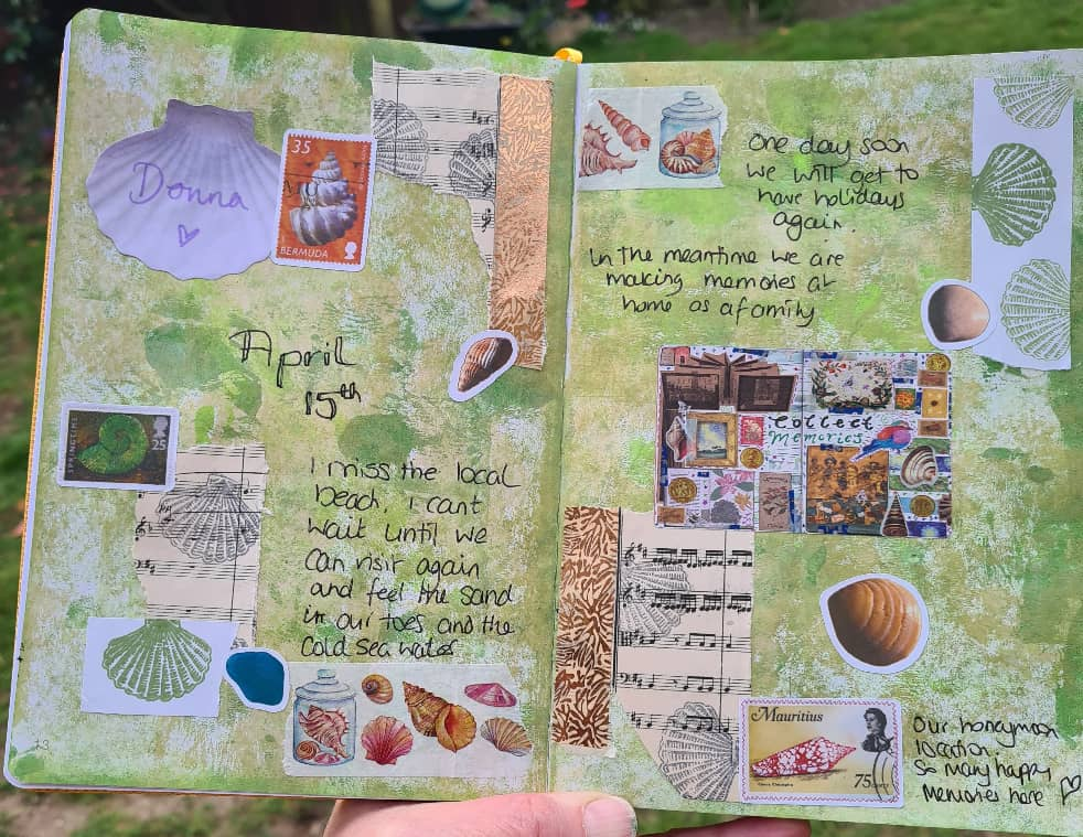 April 15th journal page