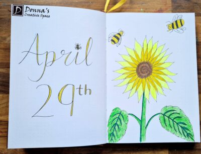 April 29th Journal Page