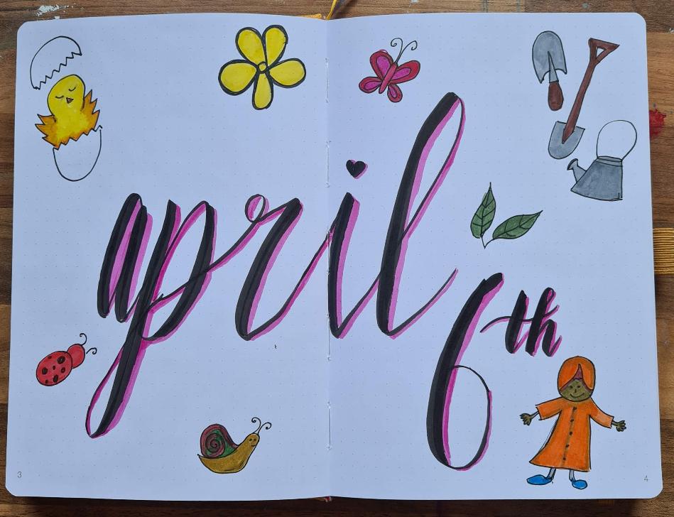 April 6th Pitt Pens Scribble & Dot