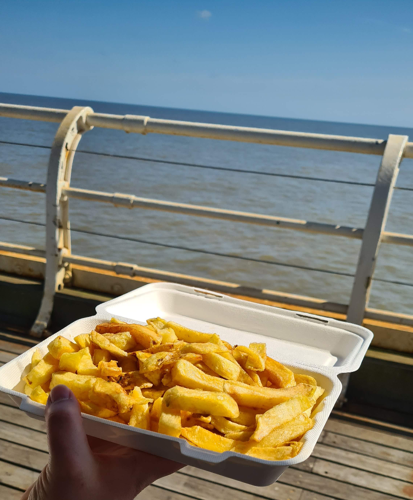 Chips on the pier april 21
