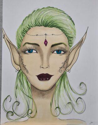 Coloured Fairy