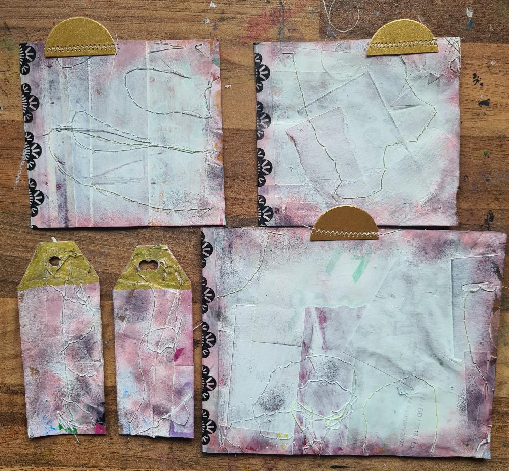 Live art journalling day 2 April pocket
