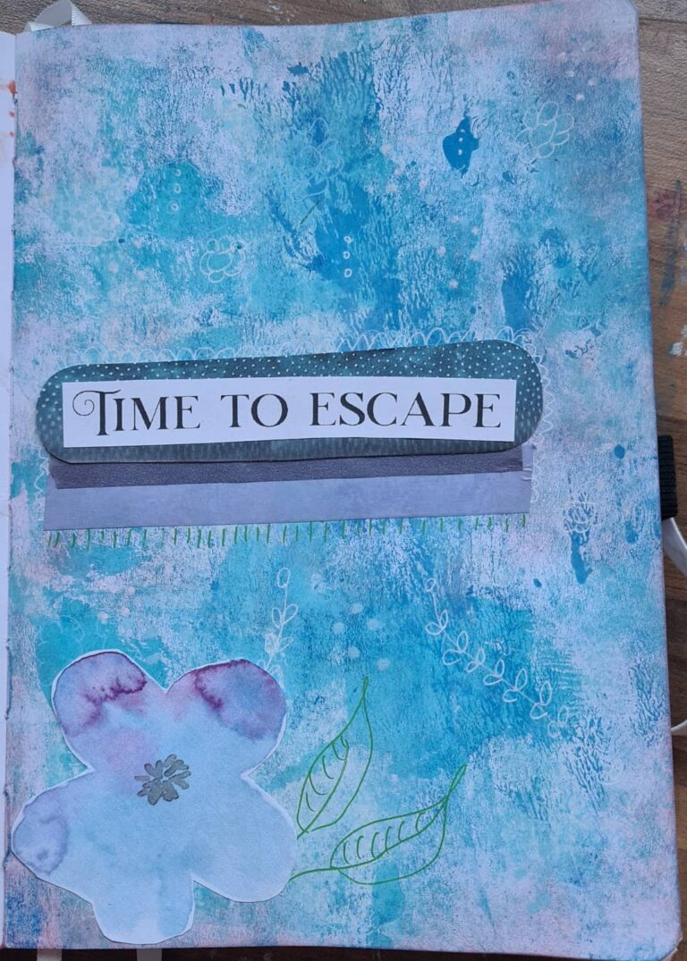 art journal page 1