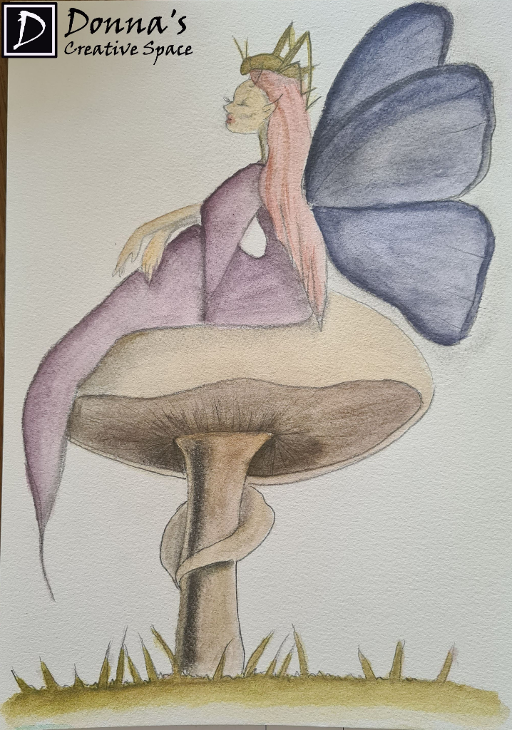 painted fairy