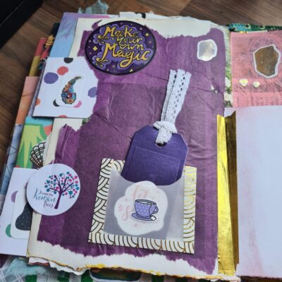 Journal inside page Kia & Rowan
