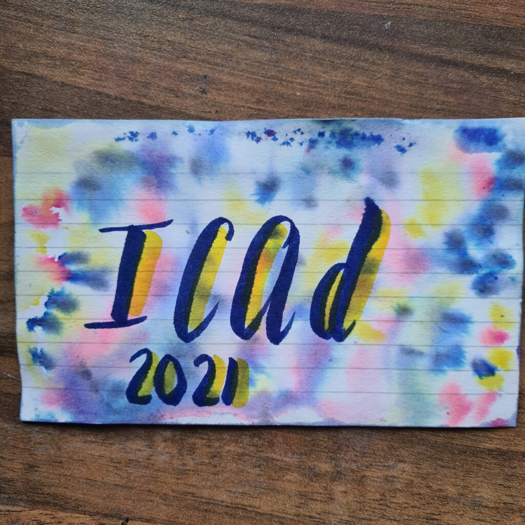 ICAD 2021 cover sheet