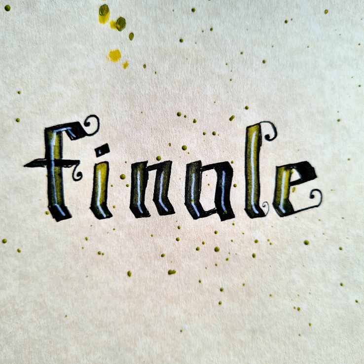 Day 31 Lettering Challenge May 21