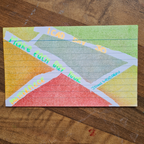 ICAD day 30