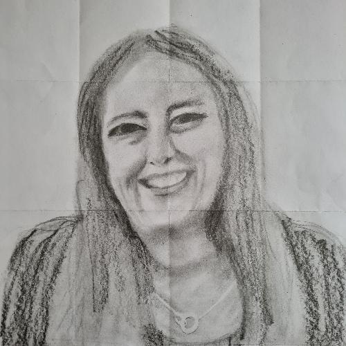 graphite - self portrait