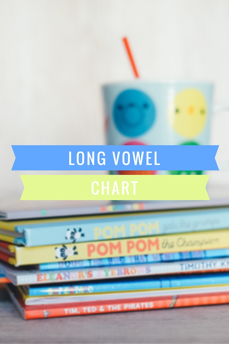 Long vowel chart to help children learn to read #literacy #reading