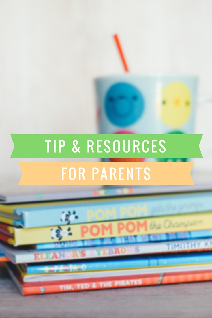 Tips and resources for parents to help teach their children how to read #literacy #reading