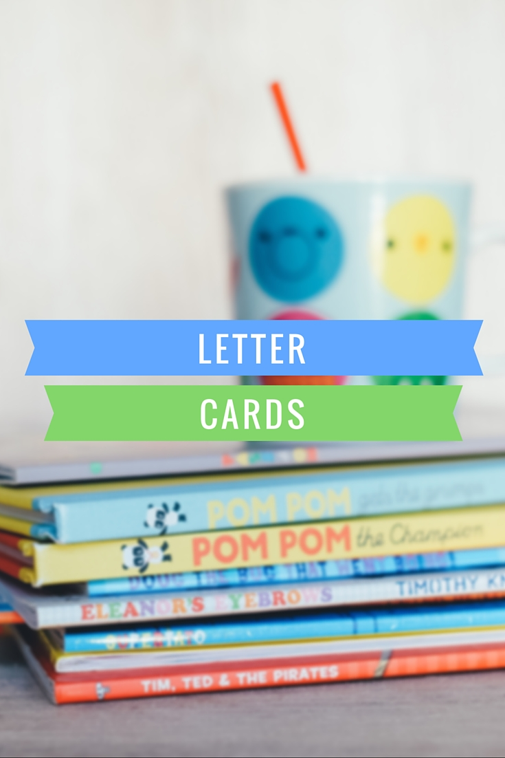 Letter Cards to help children learn to read #literacy #reading