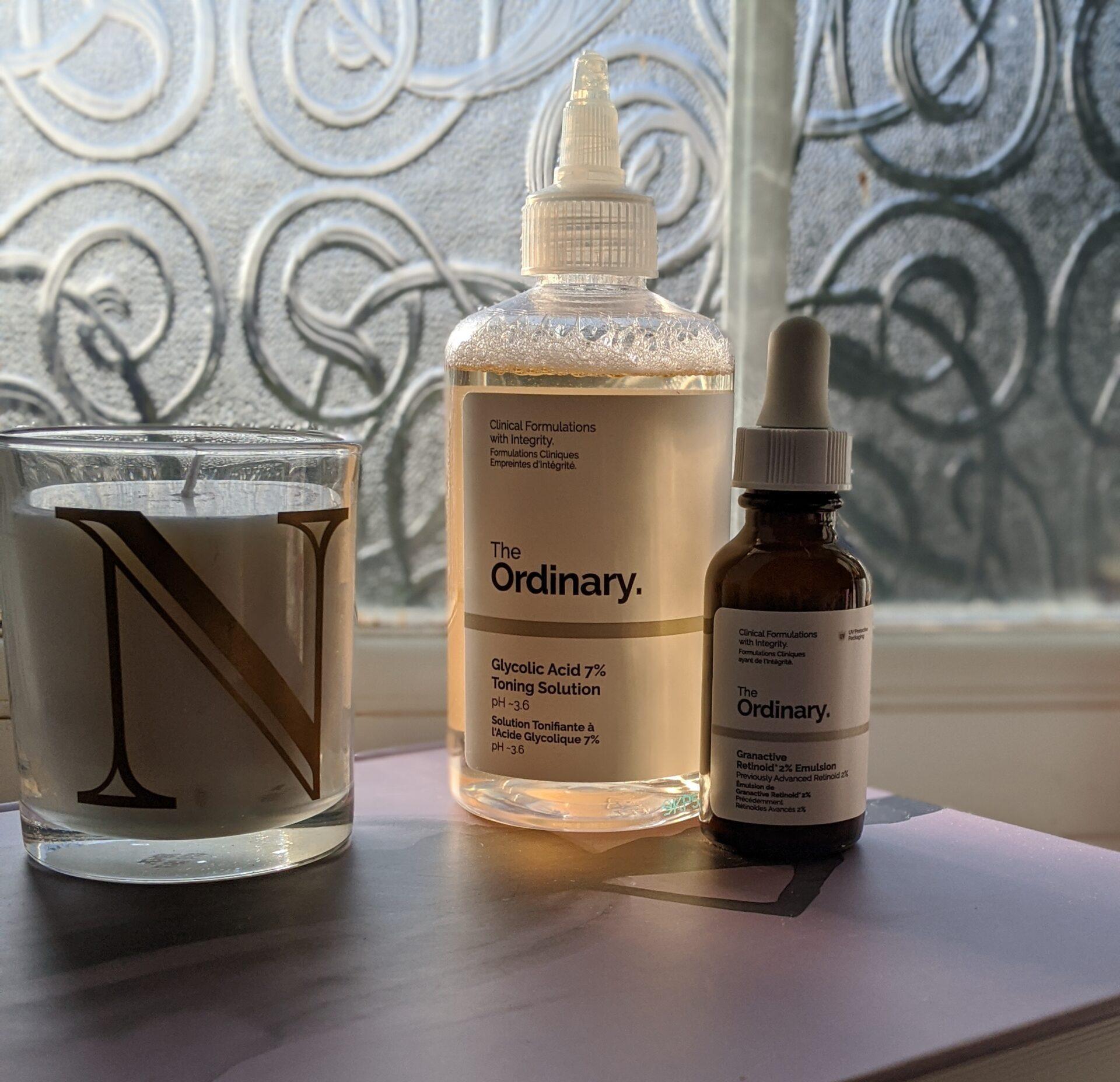The ordinary Skincare