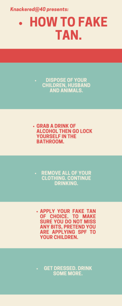 How to Fake Tan