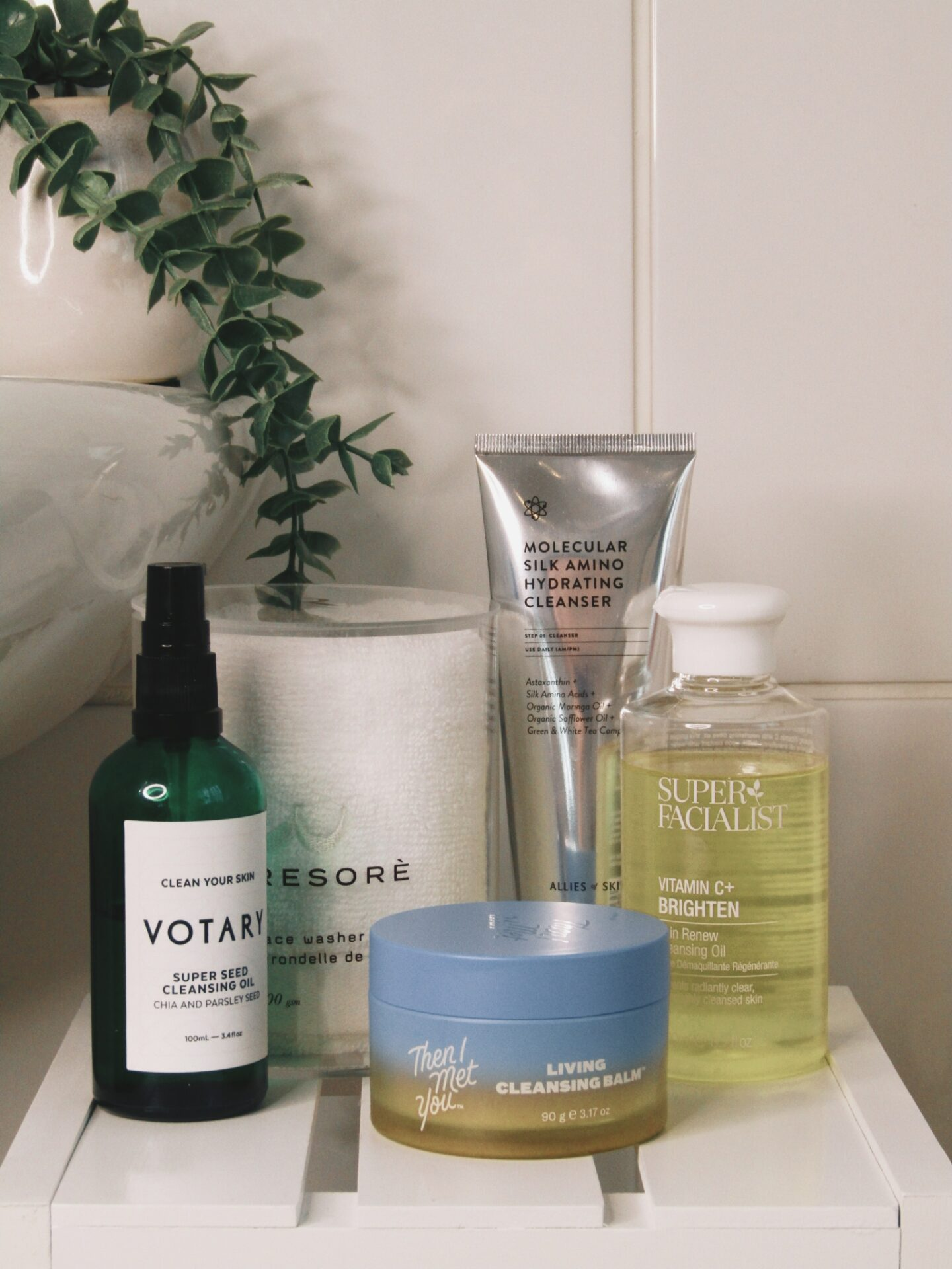 Top 5 favourite cleansers