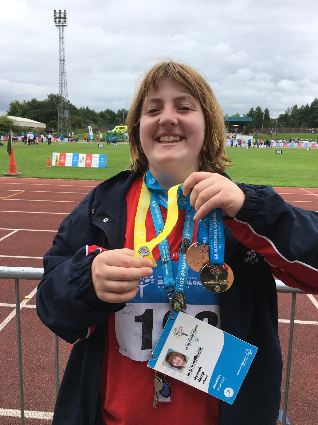 Team GB Special Olympics competitor