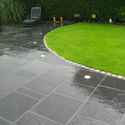 Black Limestone - Natural Riven 20m² Project Pack