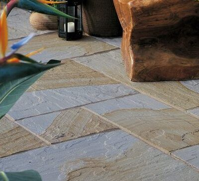 Indian York - Natural Riven 20m² Project Pack