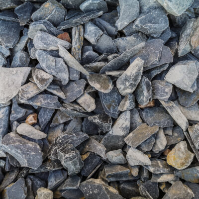 Black Slate 20mm Large Bag - 20kg