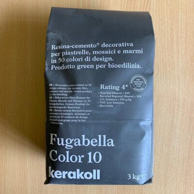 Fugabella Porcelain Grout 3kg – Color 10 – Mid Grey
