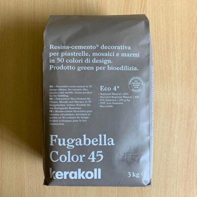 Fugabella Porcelain Grout 3kg – Color 45 – Light Brown