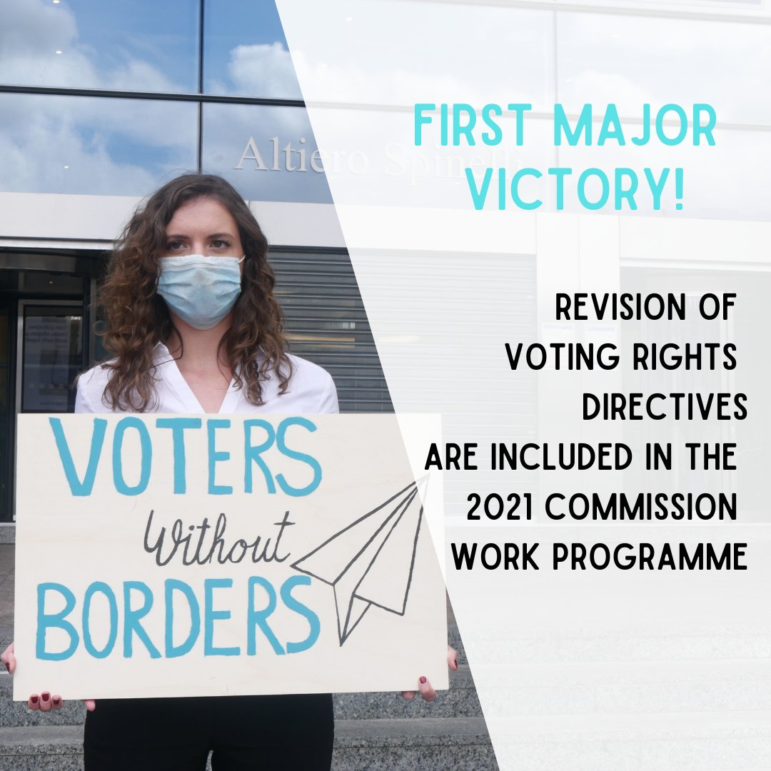 'Voters Without Borders' claim first major victory!