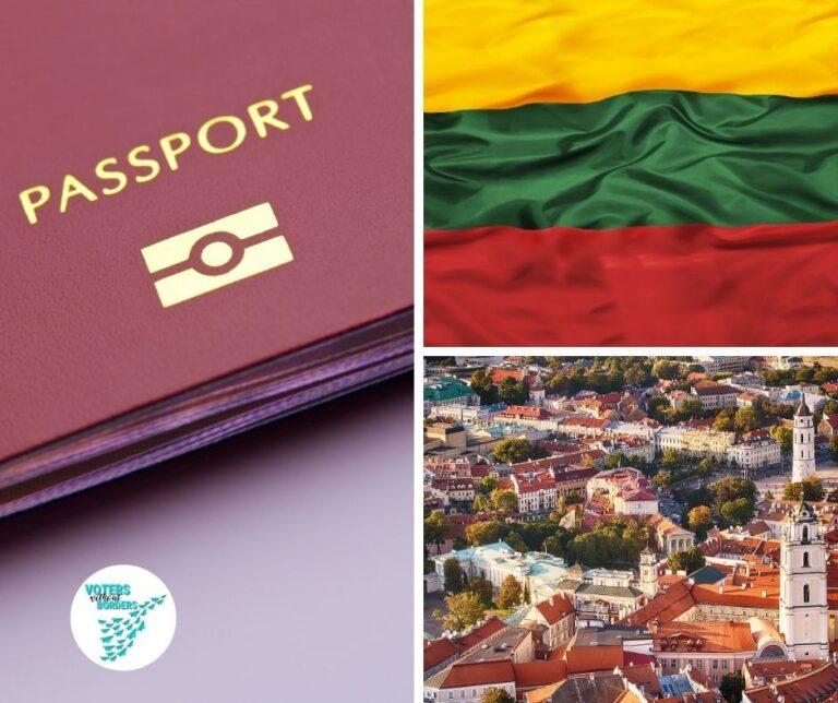 Read more about the article Lithuania 2020: Enhancing political participation through establishing a diaspora constituency