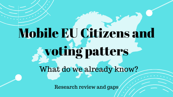 Mobile EU Citizens and voting patterns