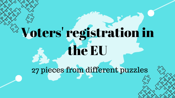 Voters' registration in the EU