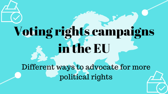 Voting rights campaigns in the EU
