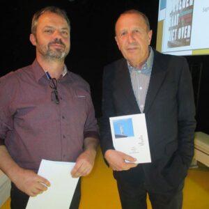 Kurt Van Eeghem en Jos Maes als voorvechters van kunst op school.