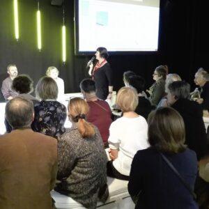 Hilde Van Mechelen geeft een introductie op de publicatie