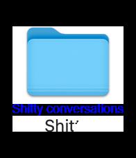 shitty conversations 1