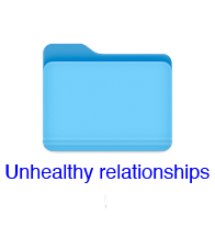 unhealthy relationships 1