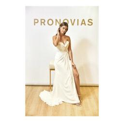 """Desiré Cordero desfilará con un vestido de Pronovias, en la Gala solidaria Barcelona Bridal Fashion Week, para """"Save the Children"""""""