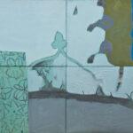 ''Çinili Resim'', 100 X 138 cm, polyptyc, tuval üzerine yağlı boya, 2010