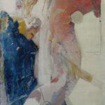 ''İlişki'', 70 X 50 cm, mukavva üzerine yağlı boya, 2005