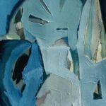 ''İsimsiz'', 70 X 50 cm, kraft kağıt üzerine yağlı boya, 2002