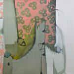 """""""Yayılan Kontur"""", tuval üzerine yağlı boya, 97 X 116 cm, 2010"""