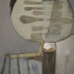 ''Salıncak'', 116 X 97 cm, tuval üzerine yağlı boya, 2009