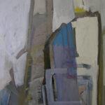 ''Atölye Üçgen - Merdivenli Kompozisyon'', 100 X 80 cm, 2005