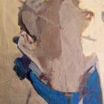 ''Barışa Giden Çocuk'', 150 X 100 cm, tuval üzerine yağlı boya, 2005