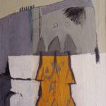 """Evin Sanat Galerisi 2009 Nuri İyem Resim Yarışması, """"Uzakçıl"""", tuval üzerine yağlı boya, 100 X 80 cm, 2009"""