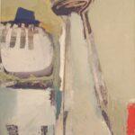 ''Kapadokya  Gezisi'', mukavva üzerine yağlı boya, 100 X 70 cm, 2005
