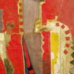 ''Kilim'', 150 X 100 cm, tuval üzerine yağlı boya, 2005