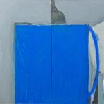 """""""Anadolu Mavi Kapı"""", 70 X 100 cm, diptik, tuval üzerine yağlı boya, 2006"""