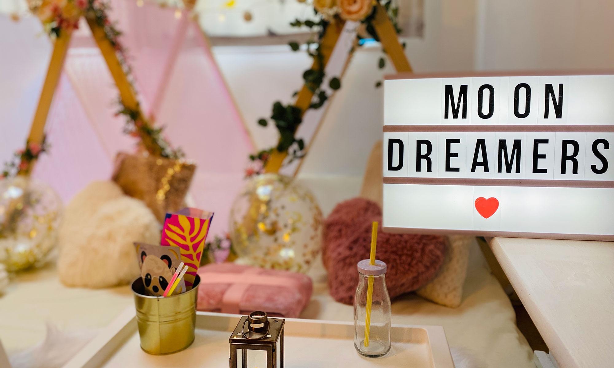 Luxury Glampovers & Children's Sleepover| Moon Dreamers